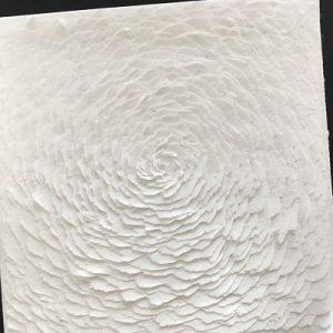 rose blanche papier decoupe