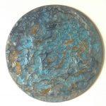 peinture ronde en resine