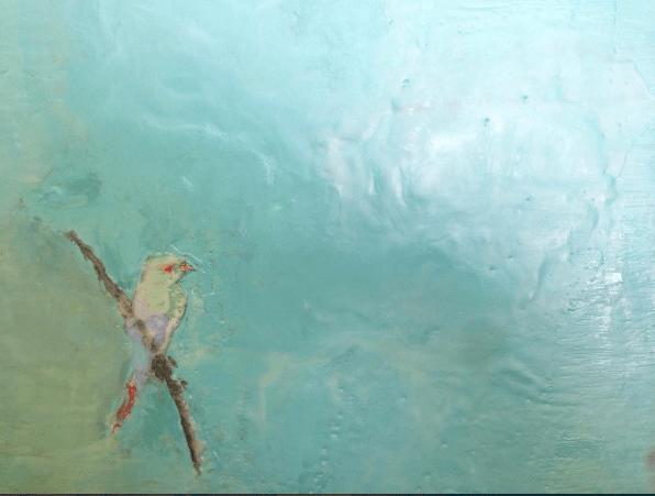 Encaustique oiseau