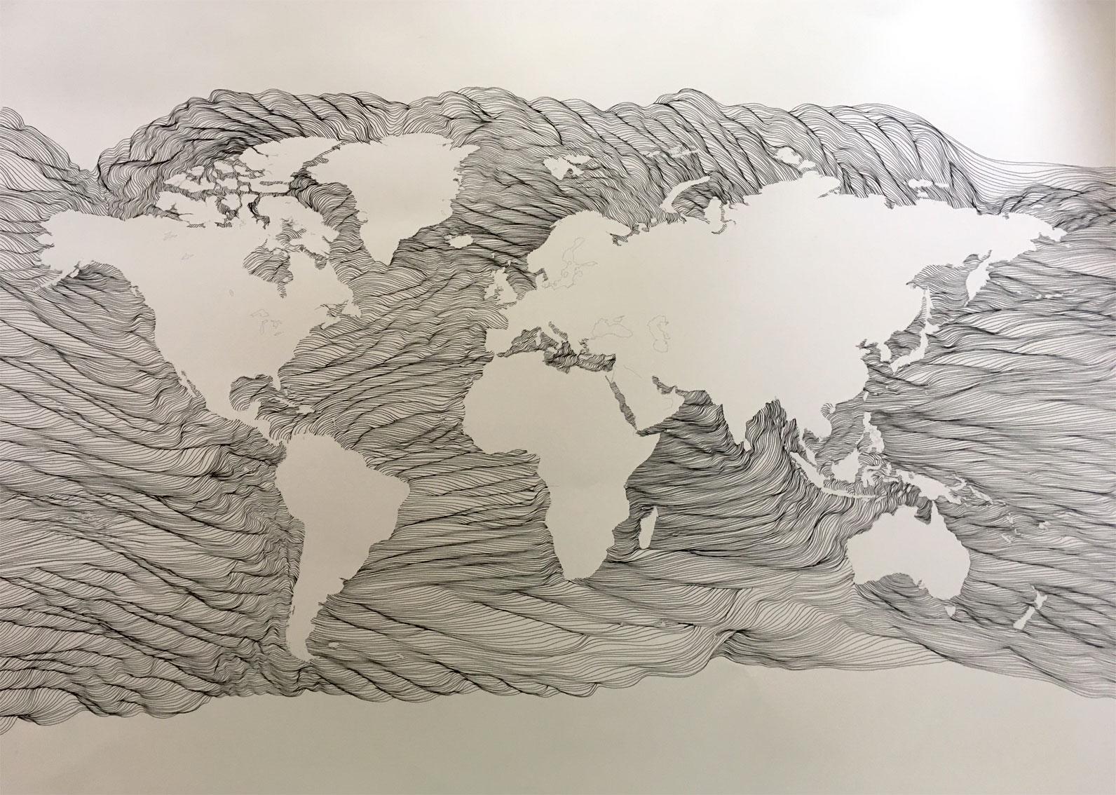 Planisphere-LeaValmain-dessin-art