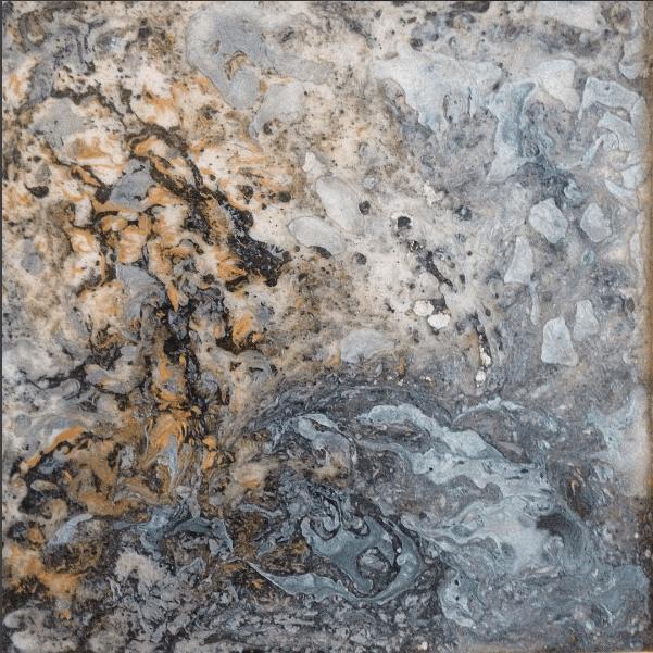 Resine carrée grise 2